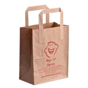 Bags of Smiles brown paper