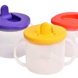 Cup with flip top